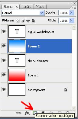 Arbeiten mit Ebenen und Ebenenmasken in Photoshop 2