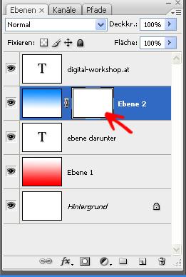 Arbeiten mit Ebenen und Ebenenmasken in Photoshop 3