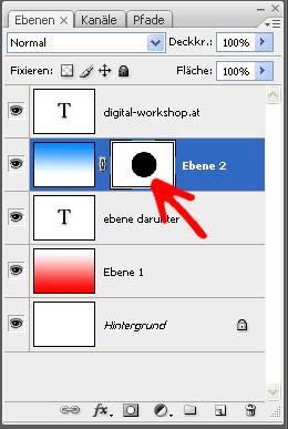 Arbeiten mit Ebenen und Ebenenmasken in Photoshop 5