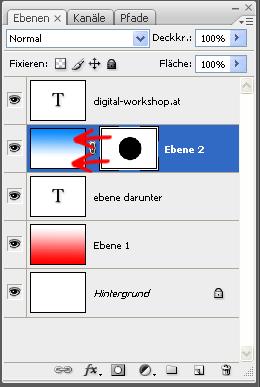 Arbeiten mit Ebenen und Ebenenmasken in Photoshop 4
