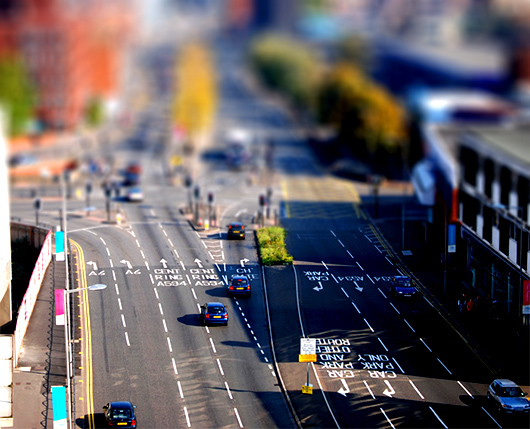 """Fake tilt shift"" Bilder 1"