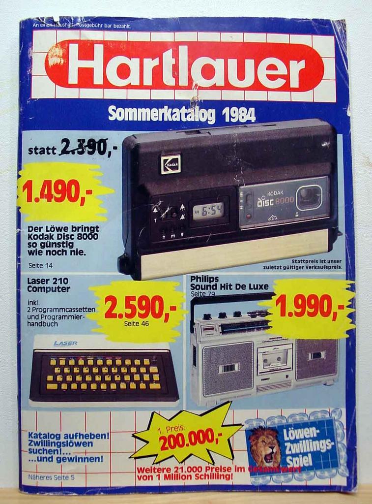 Computer Prospekt aus 1984 1