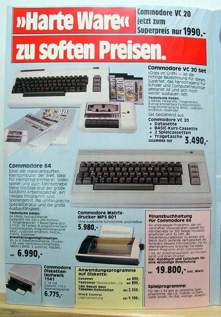 Computer Prospekt aus 1984 7