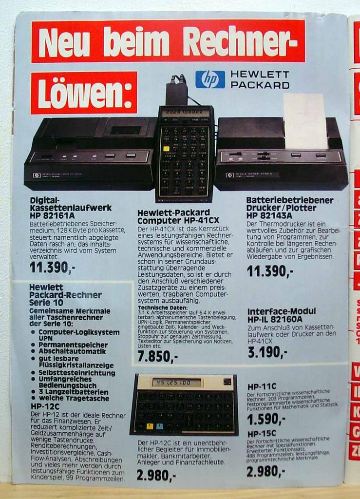 Computer Prospekt aus 1984 9