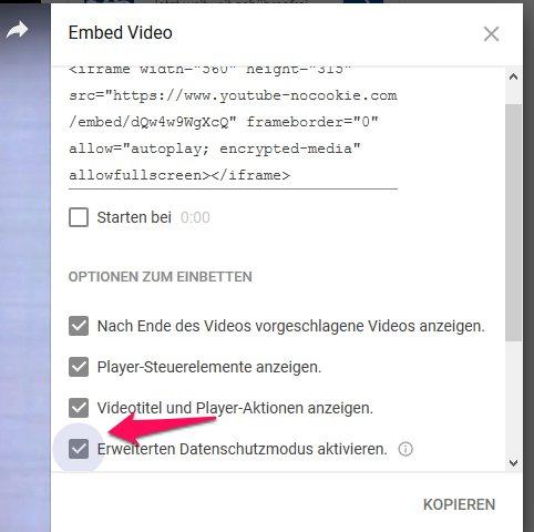3 Möglichkeiten, um YouTube-Videos DSGVO-Konform in WordPress einzubinden 3