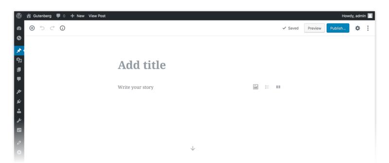 Der Gutenberg Editor von WordPress: Eine kurze Einführung 2