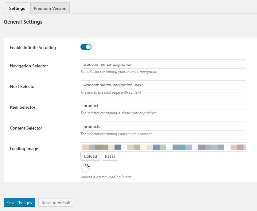 YITH Infinite Scrolling Plugin für WooCommerce in Avada Theme aktivieren 1