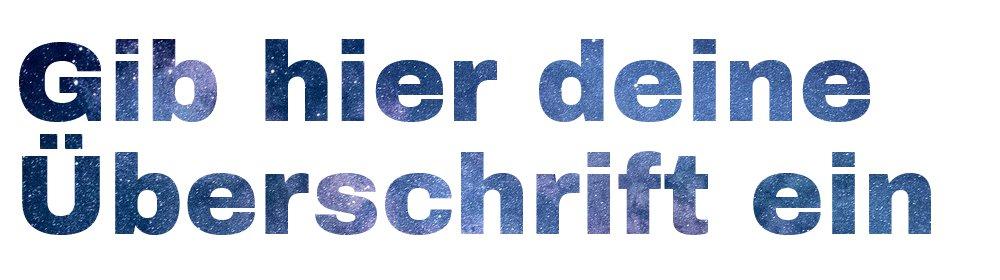 Text mit Hintergrundbild in Elementor 4