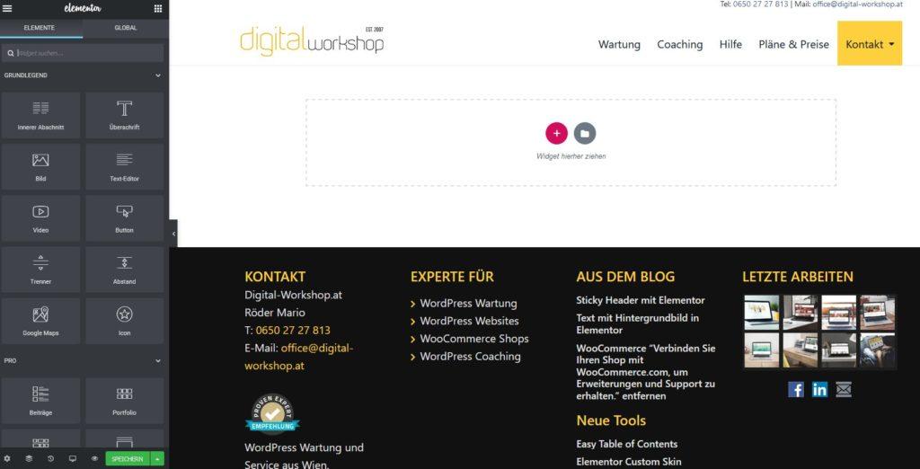 Elementor Page Builder - Der mächtigste Page Builder für WordPress 1